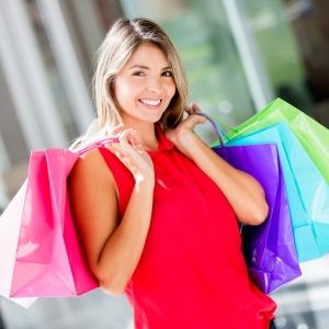 woman shop